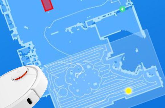 Zonage simple avec un aspirateur Robot