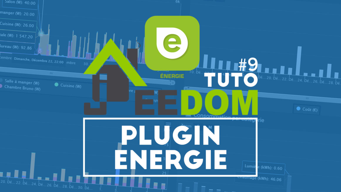 Le plugin énergie Jeedom – Faites des économies