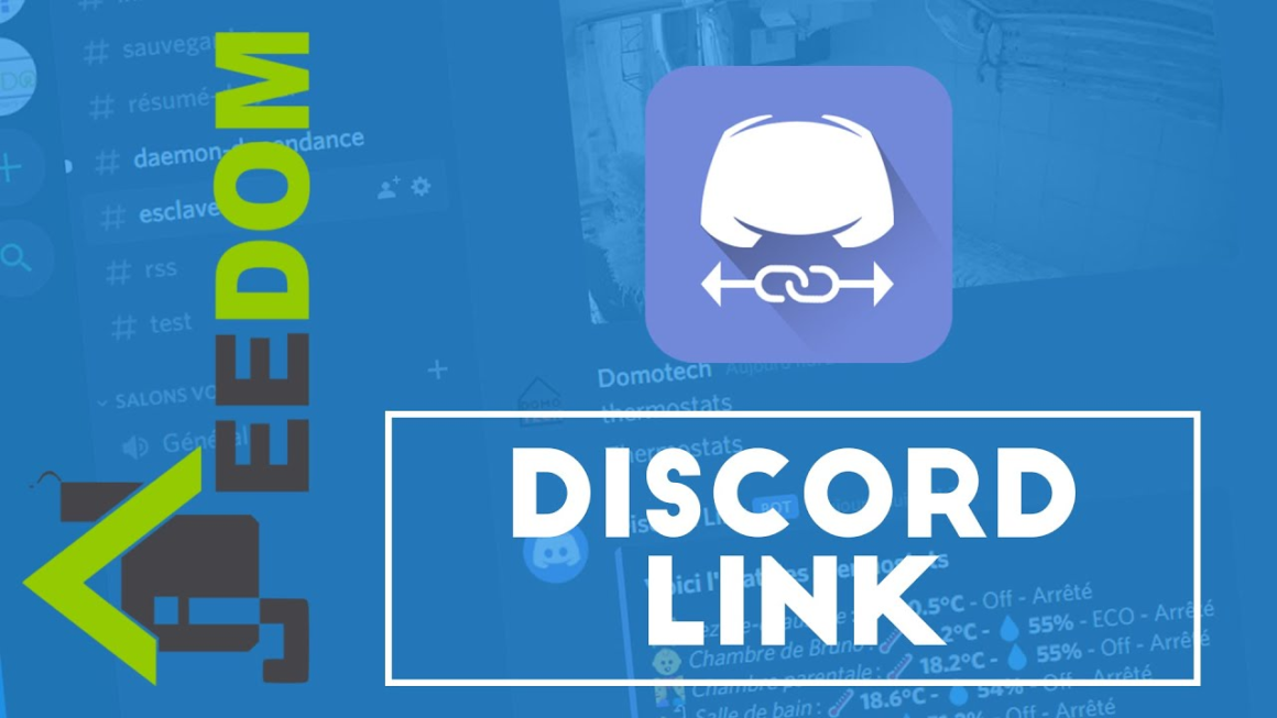 Installer et Configurer Jeedom Discord link